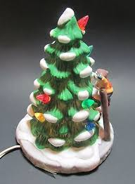 dickensville 8 porcelain lighted tree