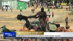 Power Vaccum South Sudan Stability Juba Plans To Hold Elections In 2018 To