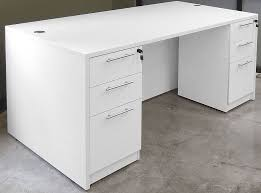 Office Desk Drawers White 4 Office Furniture Package