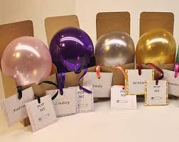 balloons inside balloons delivered balloon in a box etsy