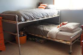 jett and sam u0027s finished pipe bed my husband is awesome for making