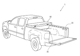 pickup truck drawing in
