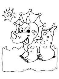 dinosaur coloring pages preschoolers 01 colored pencils