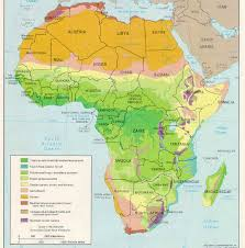 what is a climate map maps of africa