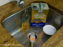 what should i use to clean my painted kitchen cabinets how to clean based paint out of a brush addicted 2