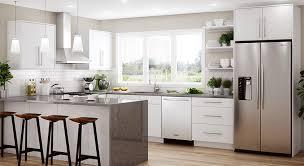 home depot white kitchen base cabinets salerno base cabinets in polar white kitchen the home depot