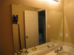 How To Frame A Bathroom Mirror With Crown Molding Bathroom Mirror Quick Fix Diy Shanty 2 Chic
