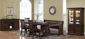 san juan brown extendable dining room set from new classic