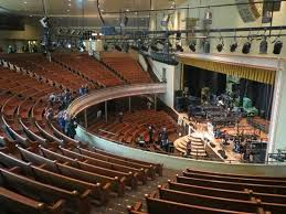 ryman seating map view from top balcony confederate gallery picture of ryman