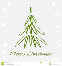drawn christmas tree christmas lights decoration
