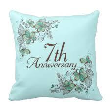 seventh anniversary gifts seventh anniversary gifts on zazzle
