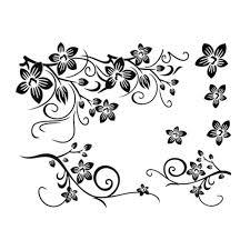 victoriaembankment hot sale 2015 wall decal diy decoration fashion romantic black f