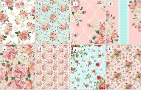 shabby chic wrapping paper floral wafer paper sheets shabby chic wafer paper garden