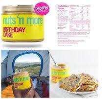 nuts protein birthday cake peanut butter 16 oz