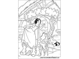 snow white colouring pages kids colouring activities