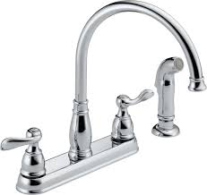 delta kitchen sink faucet parts faucet 21996lf ss in brilliance stainless by delta