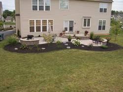 Raised Patio Construction Merkle U0027s Outdoor Living Design Build Maintain