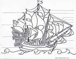 ship coloring coloring