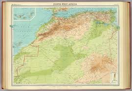 Map West Africa by North West Africa David Rumsey Historical Map Collection