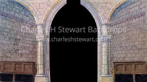 church backdrops church interior legs backdrop backdrops by charles h stewart