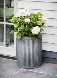 extra large outdoor planters outdoor pots u0026 planters metal and wooden industrial garden