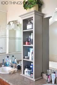 Bathroom Vanity Storage Tower Stunning 100 Bathroom Vanity Tower Cabinets Bathroom