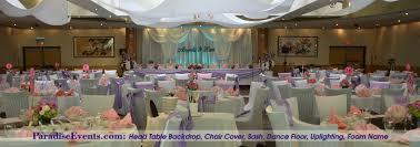 wedding backdrop vancouver restaurant wedding decor vancouver paradise events 2