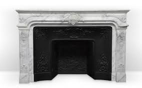 vendome custom made regence style marble mantel that combines