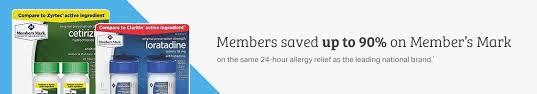 allergy sinus sam s club