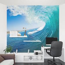 Mural Stickers For Walls Big Surf Wave Wall Mural