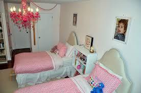 Pink Gypsy Chandelier Little Girls U0027 Shared Pink Bedroom Project Nursery