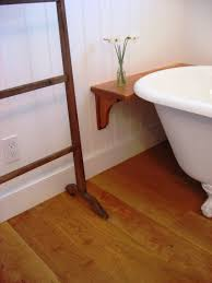 Laminate Flooring In Bathrooms Pros And Cons Wood In Bathrooms White Bathroom With Floor Bad Surripui Net