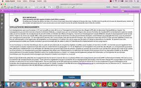 bureau des visas canada comment remplir les formulaires du dossier fédérale immigration