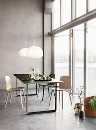 scandinavian dining room ideas 4 dark brown stained teak armless