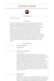 Gas Station Manager Job Description Resume by Service Coordinator Resume Samples Visualcv Resume Samples Database