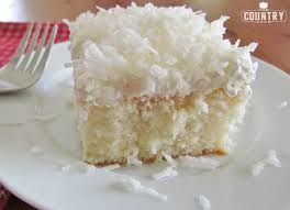 coconut cream poke cake the country cook