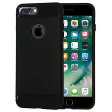 shtl carbon tpu armor for iphone 8 7 plus 5 5 black apple