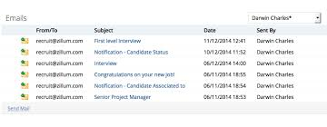 Sending Resume By Email To Recruiter Emails Inside Zoho Recruit