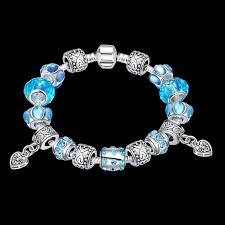 pandora bracelet gift images Fashion women jewelry pandora charm bead heart bracelet best gift jpg