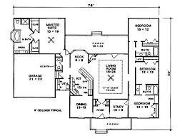 Kitchen And Living Room Floor Plans 70 Best Floor Plans Images On Pinterest Dream House Plans House