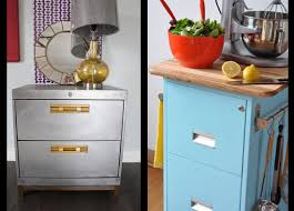 How To Paint A Filing Cabinet Elegant Upcycled Metal Filing Cabinet Craft Storage Re Use Recycle