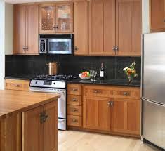 Dark Kitchen Cabinets With Light Countertops Granite Countertop Dark Kitchen Cabinets With Light Granite