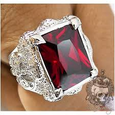 pave mens ring diamond and ruby 3d printable 36 best jewelry images on men rings rings and mens