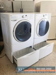 Front Load Washer With Pedestal Bundle Deal Kenmore 27