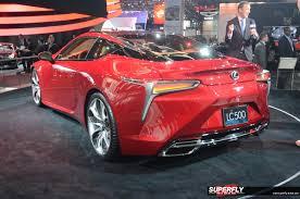 lexus lc 500 detroit 2016 detroit auto show 2016 unveiled superfly autos