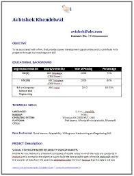 sample template of an experienced chartered accountant resume