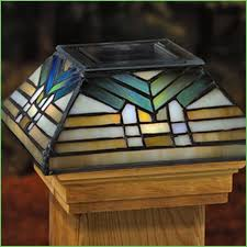 lighting fence post solar light caps 5x5 maine ornamental solar