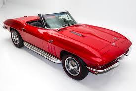 1966 chevrolet corvette red 427 425hp big block american dream