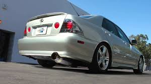 lexus is300 jdm greddy revolution rs exhaust lexus is300 sxe10 youtube