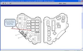 honda crx fuse box diagram discernir net